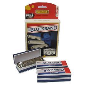 Hohner BLUES BAND SET C, G, A - zestaw harmonijek ustnych - ☎ NEGOCJUJ CENĘ TEL 32 729 97 17 ☎