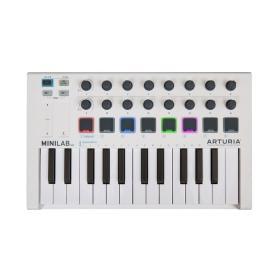 Arturia MiniLab Mk II - klawiatura sterująca z oprogramowaniem - ☎ NEGOCJUJ CENĘ TEL 32 729 97 17 ☎