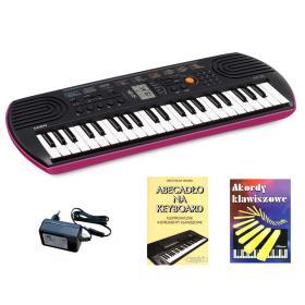 Casio SA-78 - keyboard + zasilacz + 2 książeczki edukacyjne - Raty 10x0%!