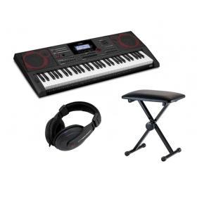 Casio CT-X5000 - keyboard + ława + słuchawki - Raty 10x0%!