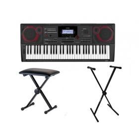 Casio CT-X5000 - keyboard + ława + statyw - Raty 10x0%!