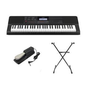 Casio CT-X700 - keyboard + statyw + pedał - Raty 10x0%!