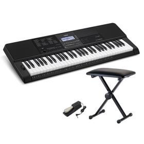 Casio CT-X800 - keyboard + ława + pedał - Raty 10x0%!