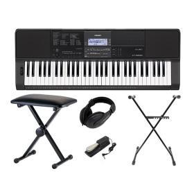 Casio CT-X800 - keyboard + ława + pedał + słuchawki + statyw - Raty 10x0%!