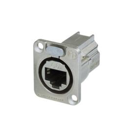 Neutrik E8 FDX-P6 - CAT6A Chassis Connector, Shielded and Nickel-Plated, D-Shaped - ☎ NEGOCJUJ CENĘ TEL 32 729 97 17 ☎