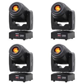 Lighting Center 4x Fusion 100 Spot MKII - zestaw głowic ruchomych typu spot - ☎ NEGOCJUJ CENĘ TEL 32 729 97 17 ☎
