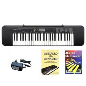 Casio CTK-240 - keyboard + zasilacz + książeczki edukacyjne - Raty 10x0%!