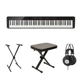 Casio PX-S3000 BK - pianino cyfrowe + statyw + ława + słuchawki - Raty 10x0%!