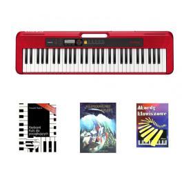 CASIO CT-S200 RD - keyboard + kolędy + kurs CD - Raty 10x0%!
