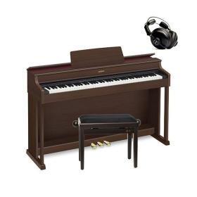 Casio AP-470 BN - pianino cyfrowe + ława + słuchawki - Raty 10x0%!