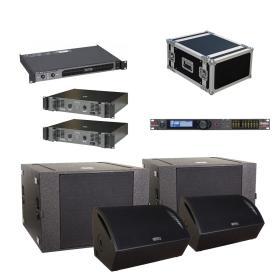 Lighting Center Audio Set 1 - zestaw nagłośnieniowy plenerowy dla domu kultury, teatru, klubu, dyskoteki - ☎ NEGOCJUJ CENĘ TEL 32 729 97 17 ☎