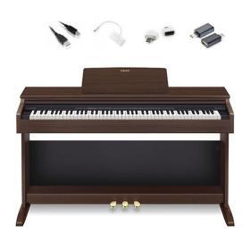 Casio AP-270 BN - pianino cyfrowe + adaptery do iOS / Android do Chordana Play - Raty 10x0%!