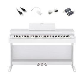 Casio AP-270 WE - pianino cyfrowe + adaptery do iOS / Android do Chordana Play - Raty 10x0%!