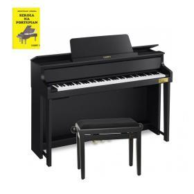 CASIO GP-310 - pianino hybrydowe + ława + książka - Raty 10x0%!