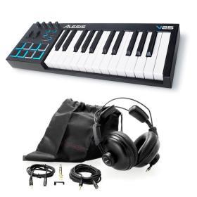 Alesis V25 - klawiatura sterująca + słuchawki - ☎ NEGOCJUJ CENĘ TEL 32 729 97 17 ☎