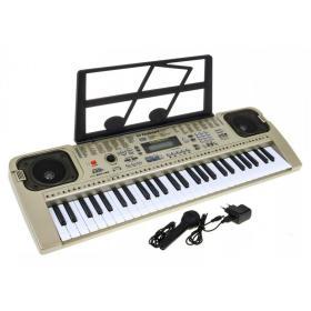 Keyboard Organy MQ-807 USB z zasilaczem i mikrofonem - ☎ NEGOCJUJ CENĘ TEL 32 729 97 17 ☎