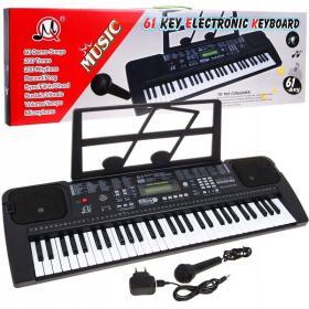 Keyboard Organy do nauki gry Mq 6152 - POKLEJONA OBUDOWA - ☎ NEGOCJUJ CENĘ TEL 32 729 97 17 ☎