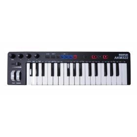 MIDIPLUS- AKM 322 S + CUBASE LE - klawiatura sterująca - ☎ NEGOCJUJ CENĘ TEL 32 729 97 17 ☎