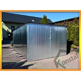 Konstrukcje stalowe Konstal produkcja garaży blaszanych
