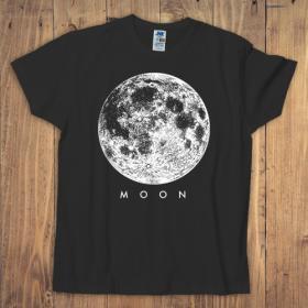 Koszulka męska czarna – Moon