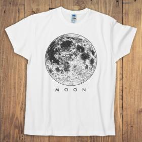 Koszulka męska biała – Moon