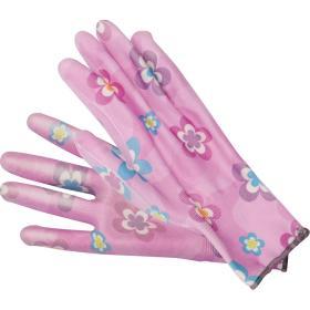 Rękawice ogrodowe róz jasny FLO