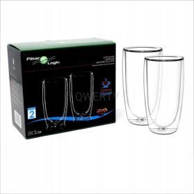 Zestaw szklanek termicznych do kawy Latte 370ml CFL-670B
