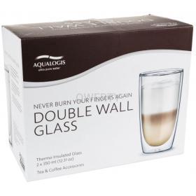 Szklanki termiczne do kawy Latte 2 szt AL-LCG350