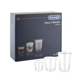 Zestaw filiżanek szklanek termicznych DeLonghi 6 sztuk