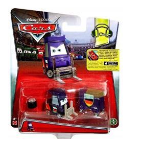 Cars Auta skala 1:55 Mechanik Pitty Max Widłak Disney Mattel