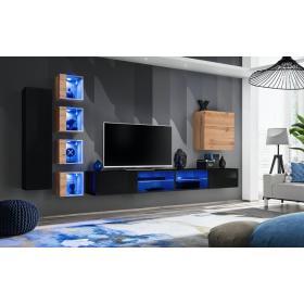 Meblościanka Switch 26 wotan mat + LED