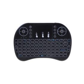SMART TV MINI KEYBOARD - Urządzenie wskazujące 3 w 1. Bezprzewodowa klawiatura multimedialna, touchpad USB
