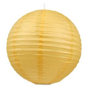 Abażur Papierowy-Kokon Kula Papierowa 50 Żółty