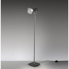 Lampa podłogowa do czytania Artemide FIAMMA czarna