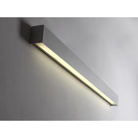 Lampa ścienna LINE WALL LED L - biały