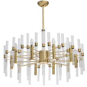 Lampa wisząca Alghero Classic 10 Mosiądz - 285010910