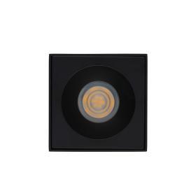 Oświetlenie do łazienki czarny downlight BRAVO BLACK