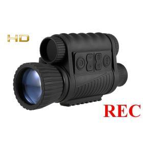Dzienno-Nocny Noktowizor Cyfrowy Hunter 6-30x50 + Zapis HD + Współpraca z RTV/PC + Szyna Akcesor....