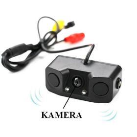 Kamera Cofania z Czujnikami Parkowania + Sygnalizacja Dźwiękowa + 2x LED.
