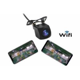 Bezprzewodowa Kamera Cofania/Parkowania (12V) WiFi 2.4GHz + Linie Wspomagające + Montaż...