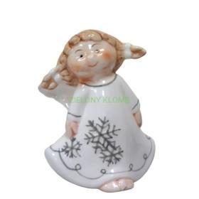 Figurka Porcelanowy Anioł OZB05006