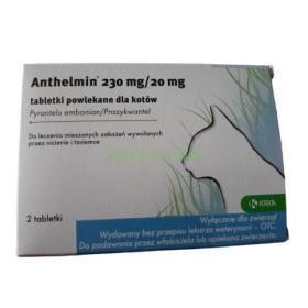 Anthelmin 20MG 2 Tabletki