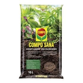 Ziemia Do Roślin Zielonych i Palm 10 L Compo
