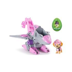 Psi Patrol Dino Rescue Skye + Pojazd odrzutowiec