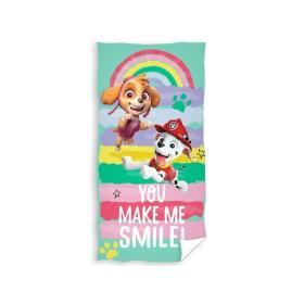 Ręcznik PSI PATROL You make me smile Carbotex