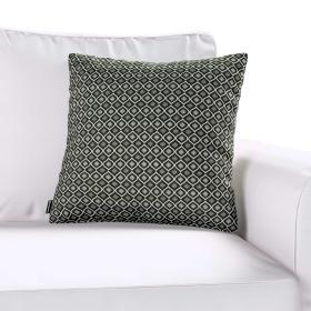 Dekoria.pl Poszewka Kinga na poduszkę, czarno-biały, 60 × 60 cm, Black & White