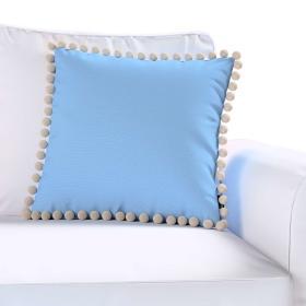 Dekoria.pl Poszewka Wera na poduszkę, niebieski, 45 × 45 cm, Loneta