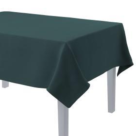 Dekoria.pl Obrus prostokątny, zgaszona szmaragdowa zieleń, 130 × 160 cm, Linen
