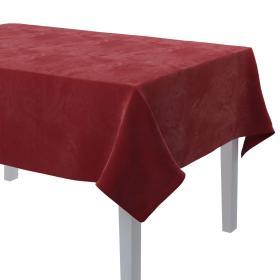 Dekoria.pl Obrus prostokątny, intensywna czerwień, 130 × 210 cm, Velvet