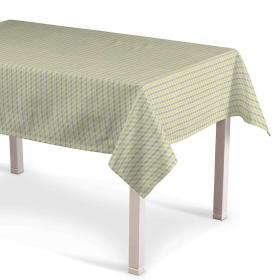 Dekoria.pl Obrus prostokątny, przestrzenny wzór w zielono-brązowej kolorystyce, 130 × 250 cm, do -50%